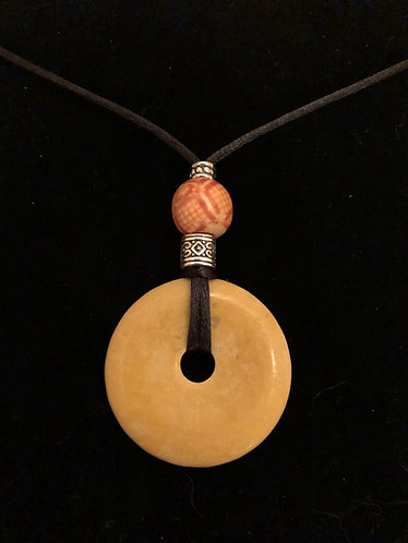 Natural Stone, Wood & Silver Plate