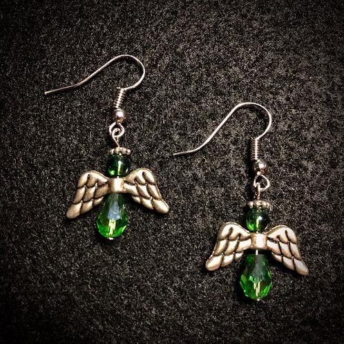 Angel & Green Glass