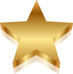 Gold Star With Shadow.png