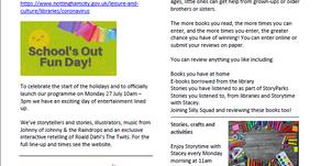 Nottingham City Libraries Summer of Fun