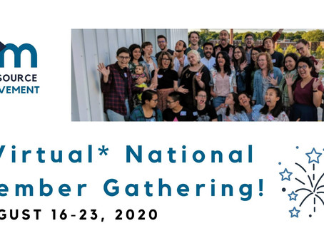 2020 *Virtual* National Member Gathering