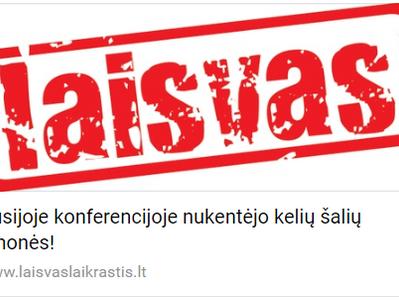 Rusijoje konferencijoje nukentėjo kelių šalių žmonės!