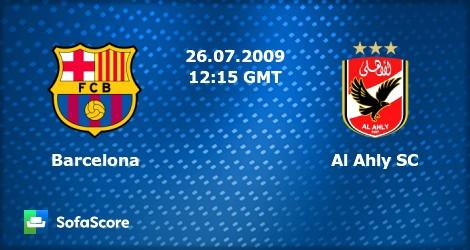 Al Ahly Egypt vs Barcelona