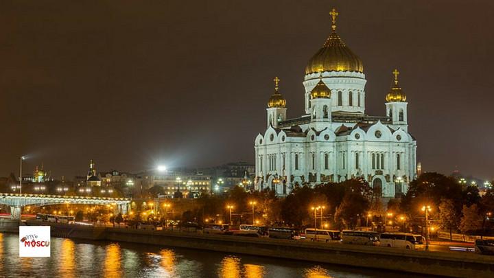 Catedral de Cristo Salvador en Moscú
