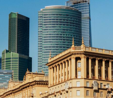 Moscow City: Rusia ente Socialismo y Capitalismo