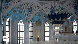 Interior de la Mezquita Qol Sharif