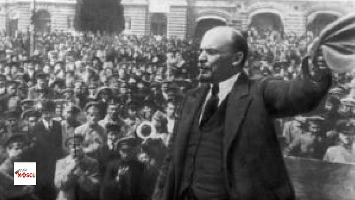 Lenin durante Revolución Rusa