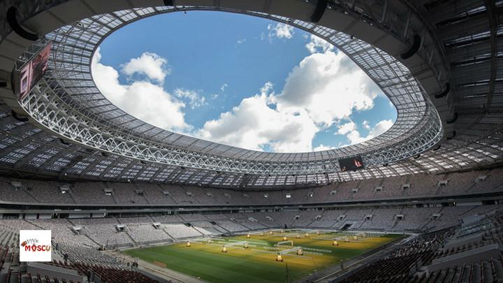 Estadio Luzhniki de Moscú. Foto Sputnik