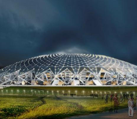 Estadio de Samara: listo para el Mundial de Rusia