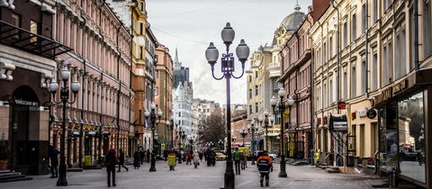 arbat moscu, calle peatonal, paseo, viejo arbat, que ver en arbat moscu, que ver en moscu en 2 dias