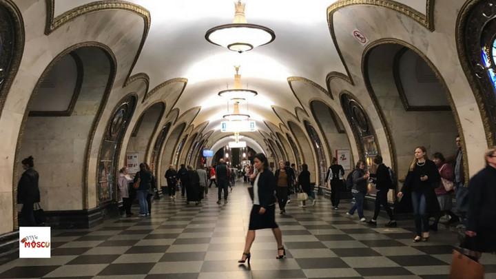 Estación Metro Moscú