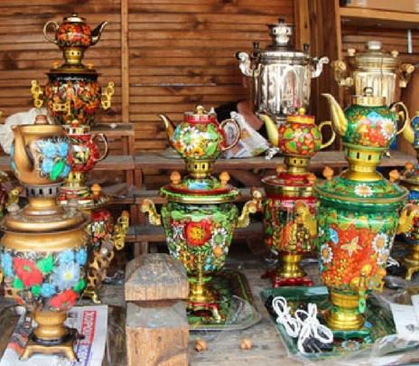 Joyas a teteras. Souvenirs de Rusia que son más que un adorno