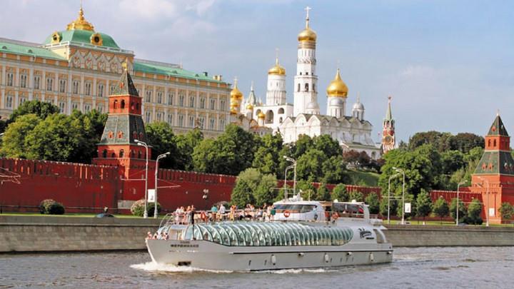 Crucero por el río Moskova