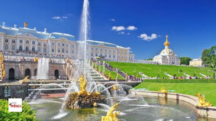 Jardines del Palacio Peterhof