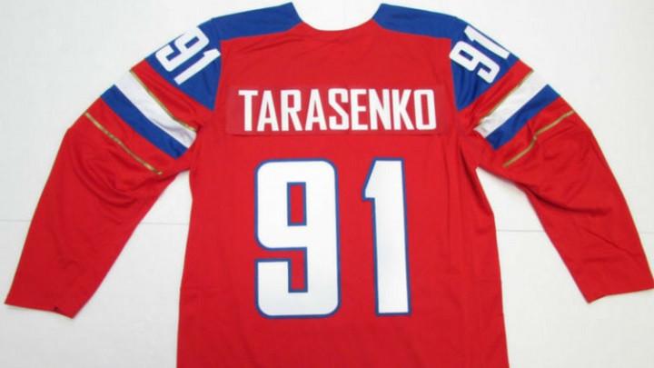 Camiseta de Hockey de Hielo de Rusia