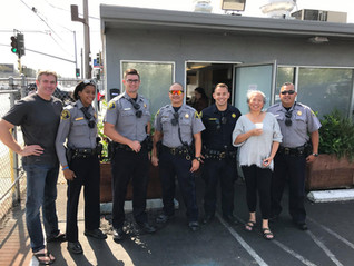 Alameda Sheriff Officers at Kitchen 1014