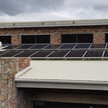 16 x 390Wp PV modules installed.