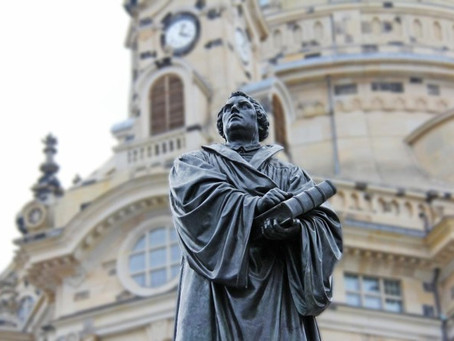 502 anos da Reforma Protestante