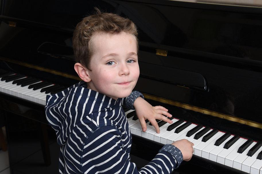 Piano Elementary Boy Striped Shirt.jpeg