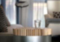 TV and Home Cinema corner, Kenneth Cobonpue Chiquita stool, Sherazade sofa by Edra, cushions from Globus, Lake Geneva, Christi Rolland Home Interiors