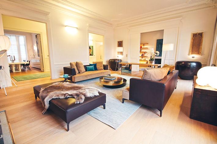 The Main Room, Paris, Trocadero, Christi Rolland Home Interiors