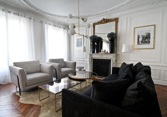 Monceau Paris Project Portfolio Christi Rolland Home Interiors Living Room