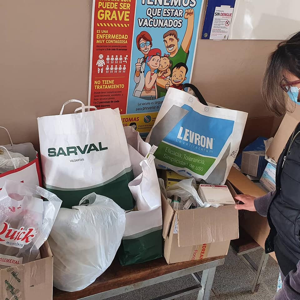 Ayuda al Dispensario Colinas del Cerro