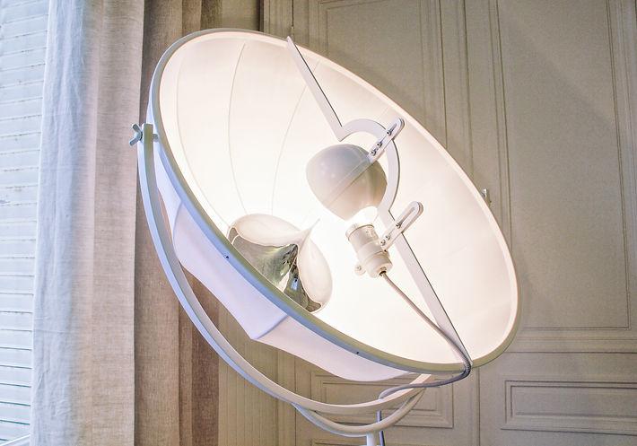 Fortuny Floor lamp, Trocadero, Paris, Christi Rolland Home Interiors