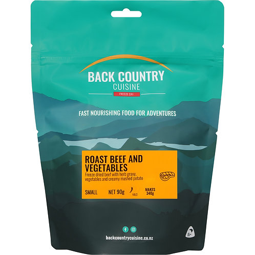 Back Country Cuisine Roast Beef & Vegetables Small