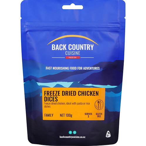 Back Country Cuisine Freeze-Dried Chicken Dices