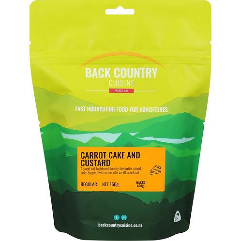 Back Country Cuisine Carrot Cake & Custard