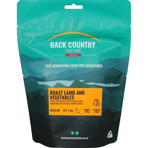 Back Country Cuisine Roast Lamb & Vegetables Regular