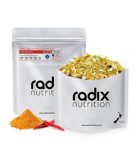 Radix Nutrition Performance 600 Indian Style Free-range Chicken Curry