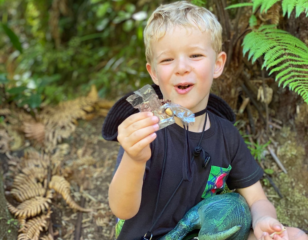 Crafty Weka Bars are great for snacks on tramping trips