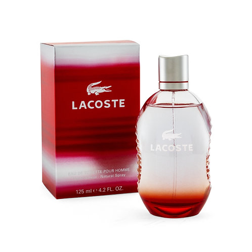 LACOSTE RED  125 ML EDT SPRAY