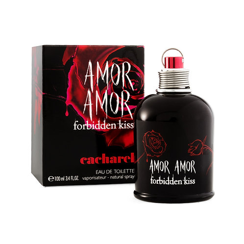 AMOR AMOR FORBIDDEN KISS 100 ML EDT SPRAY