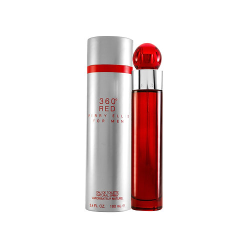 360� RED  100 ML EDT SPRAY