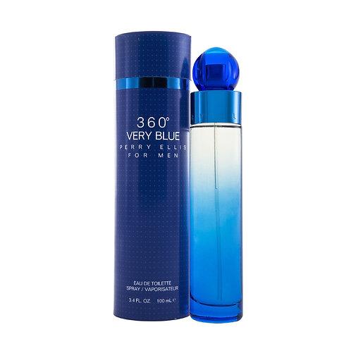 360� VERY BLUE MEN 100 ML EDT SPRAY