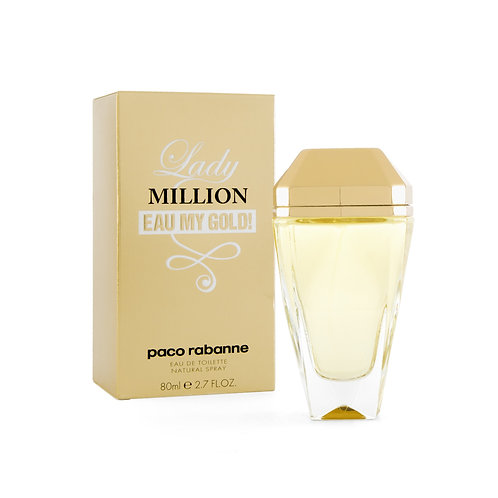 LADY MILLION EAU MY GOLD 80 ML EDT SPRAY