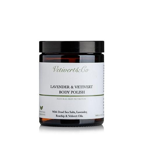 Lavender & Vetivert Body Polish  薰衣草和岩蘭草身體磨砂霜