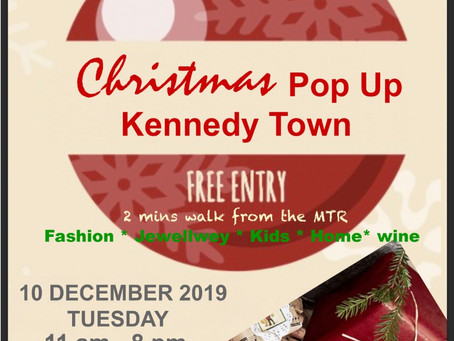 Christmas Pop-up 2019 - We will love to see you!