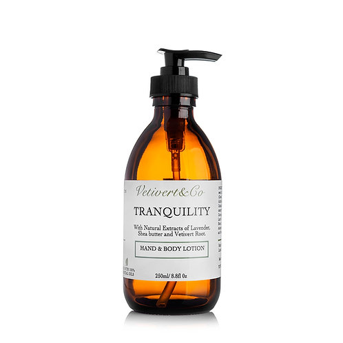 Vetivert Tranquility Natural Body & Hand Lotion