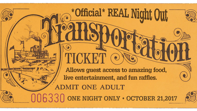 This Ticket Will Transport You to Fun (and Food!)