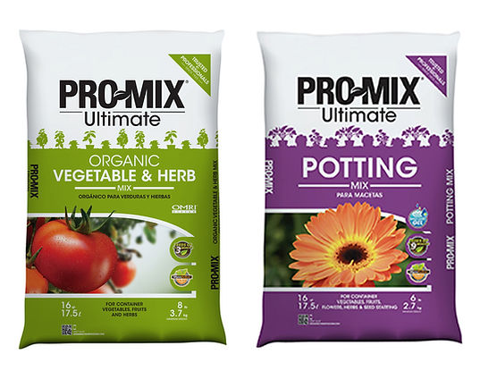 Timbuk Farms offers ProMix Potting Soil and Organic Vegetable and Herb Mix