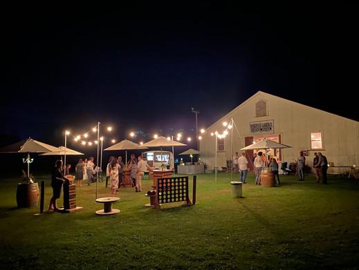 Outdoor Wedding Set Up