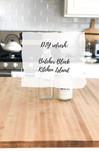 DIY Refresh: Butcher Block Kitchen Island