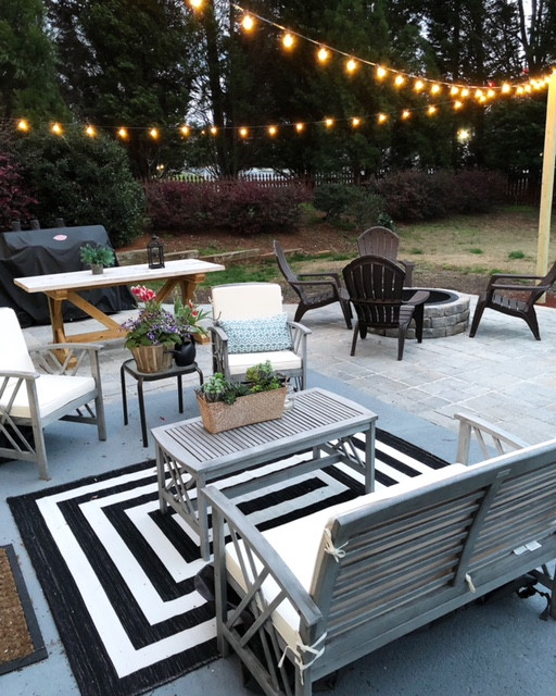 Spring is here! Here are some patio decorating + furniture ideas