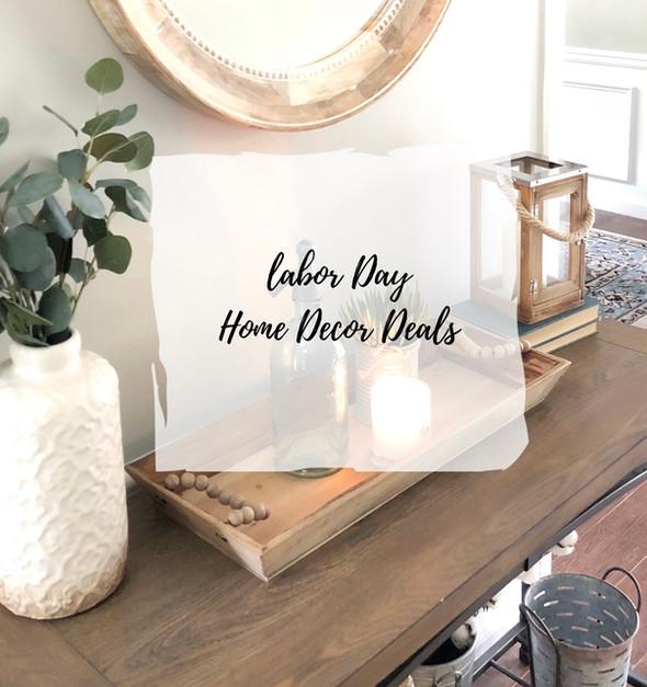Labor Day Home Decor Deals