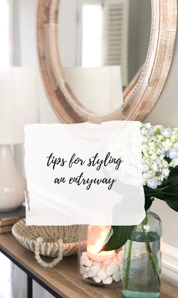 Welcome home: 5 tips for styling an entryway