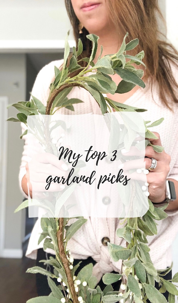 My top 3 garland picks (and how to use them in your home)